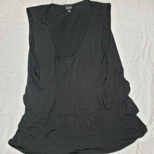 Rafaella Womens Sleeveless Top Blouse Black